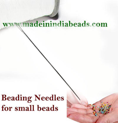Price Per 20/Pcs. Pack,Perfect for stringing glass beads Needle Size 40mm