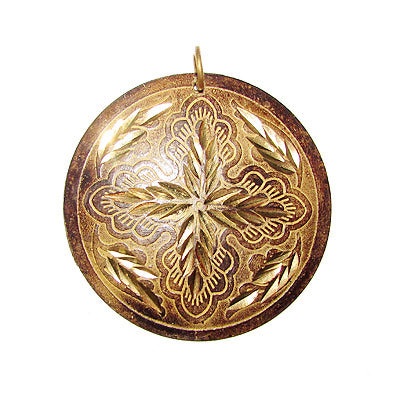 Wholesale made to order 25 Pcs Handmade Brass Patina Jewelry Making Pendants