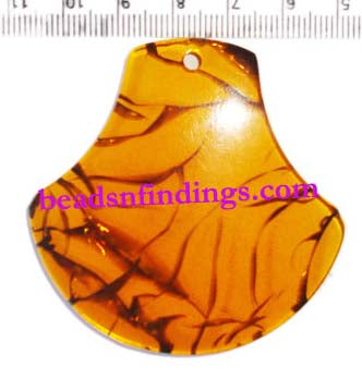 20 Pcs,Brown,40-45mm,Other,Resin pendants for jewelry Making Made to Order
