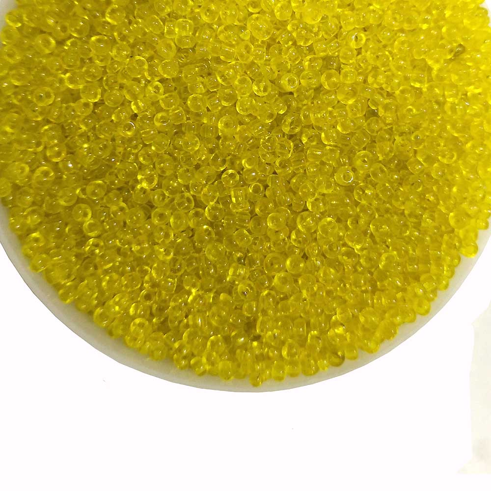 500 Grams Yellow Glass seed beads 10/0 Size jewelry supplies beads
