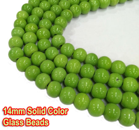 Hole Size about 1.5~2mm Sizes, shapes and colors may vary with handcrafted items. Items are made with solid color glass