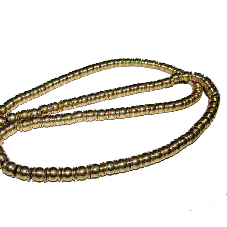 1 Kilogram 6x8mm Solid raw brass spacer Barrel shape beads available in all Silver Gold Copper Gunmetal and Bronze finish