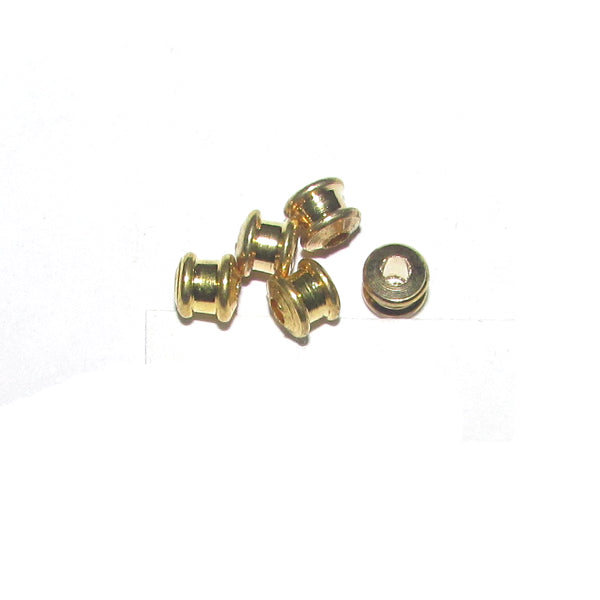 1 Kilogram 5x5mm, Solid Brass Metal Beads Sold Per Kilogram Pack 2220 Pcs in a Kilogram