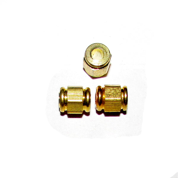 1 Kilogram, 6x7mm, Solid Brass Metal Beads Sold Per Kilogram Pack 710 Pcs in a Kilogram