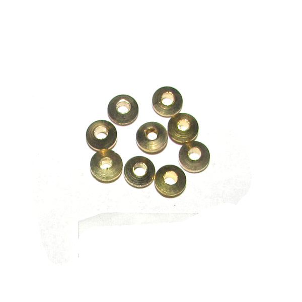 1 Kilogram, 5x2mm, Solid Brass Metal Bead Spacer Sold Per Kilogram, Pack 4540 Pcs in a Kilogram