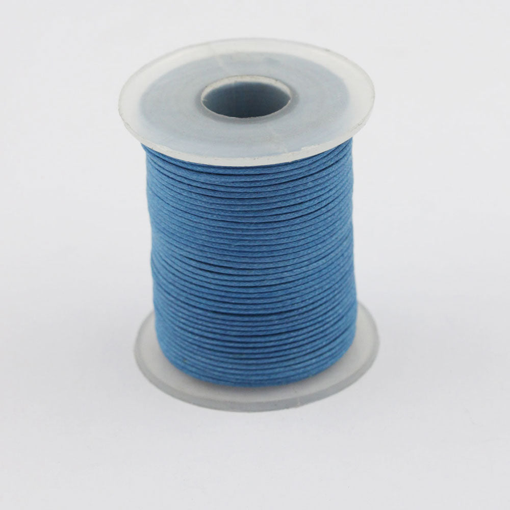 100 Meters Spool Round Cotton Wax Cords Threads Laces More Color Shade Available best for jewelry making