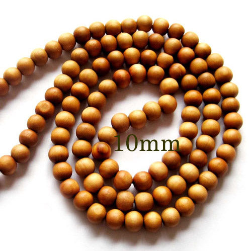 Natural Wood Seed Beads Spritual loose and Mala