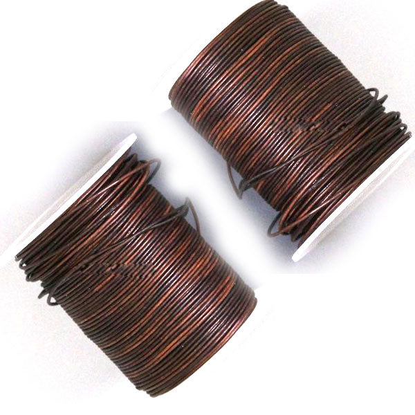 100 Meters Brown and More Shade of Distressed Genuine Round Leather Cords Available in 0.5mm,1mm,2mm,3mm,4mm, Wholesale manufacturer online india for jewelry making Great for beading, necklaces, Our Round Leather Cord is genuine