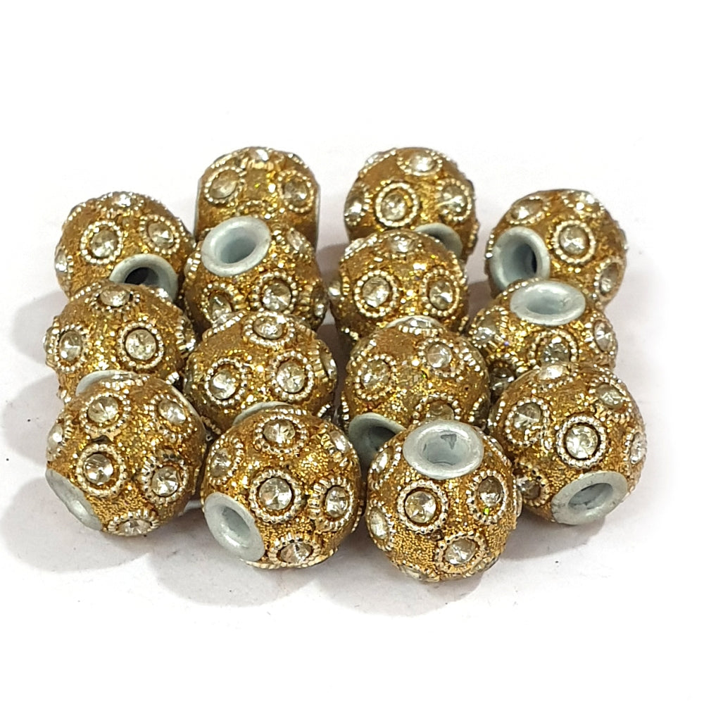 14x15mm measuring approx 100 Pieces handmade kashmiri lac beads.