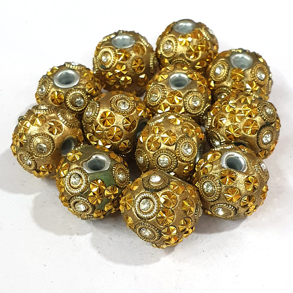 21x24mm measuring approx 100 Pieces handmade kashmiri lac beads.