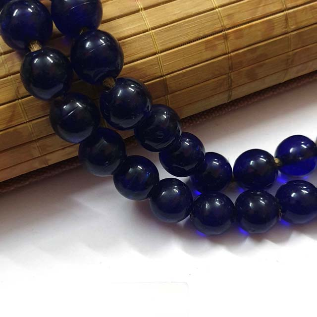Large Glass Beads Jewelry making beads vintage small lot Per strand as photo Buy Large Handmade Glass Beads Spacer Charms Best for 2 and 3mm Beading Cords