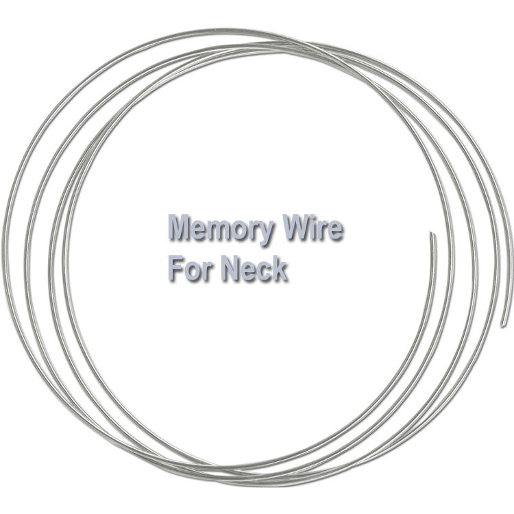 Approximately 40 continuous loops  4 inches loops (approx 100mm) for Necklace jewelry making, bead necklace wire perfect for your jewelry project