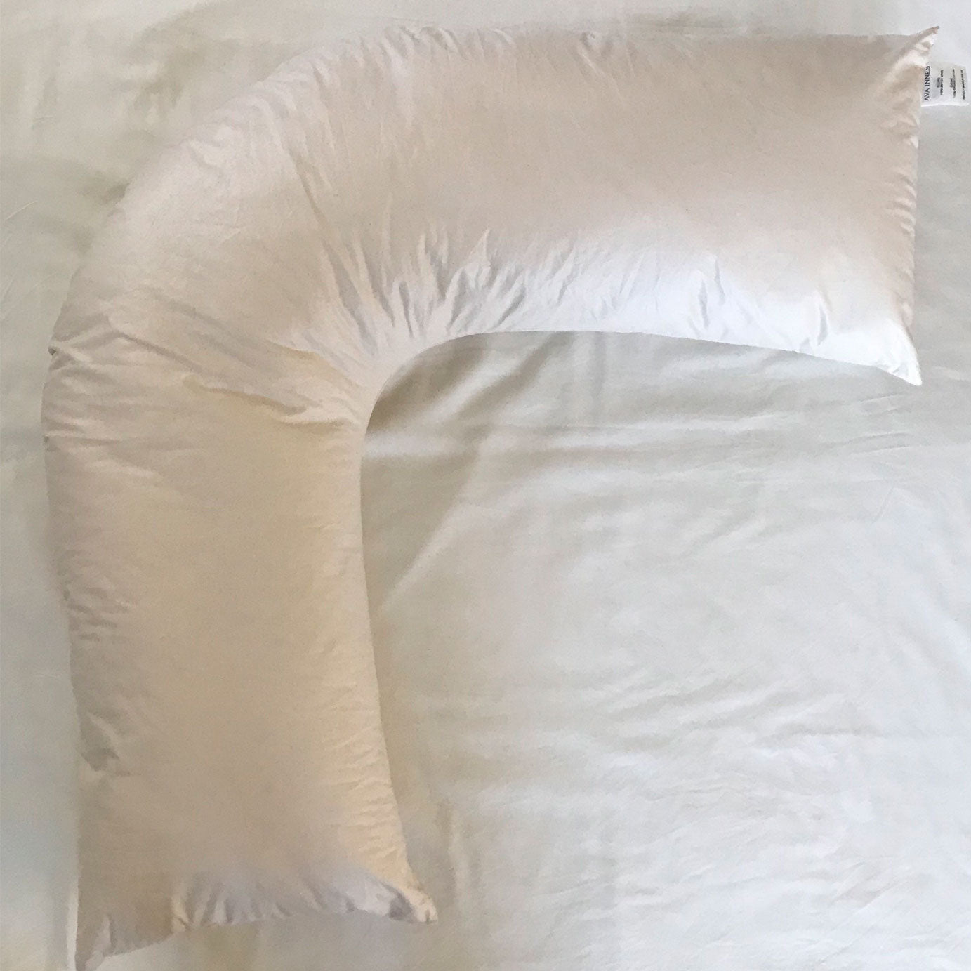 Luxury British Wool V Shaped Bed Pillow