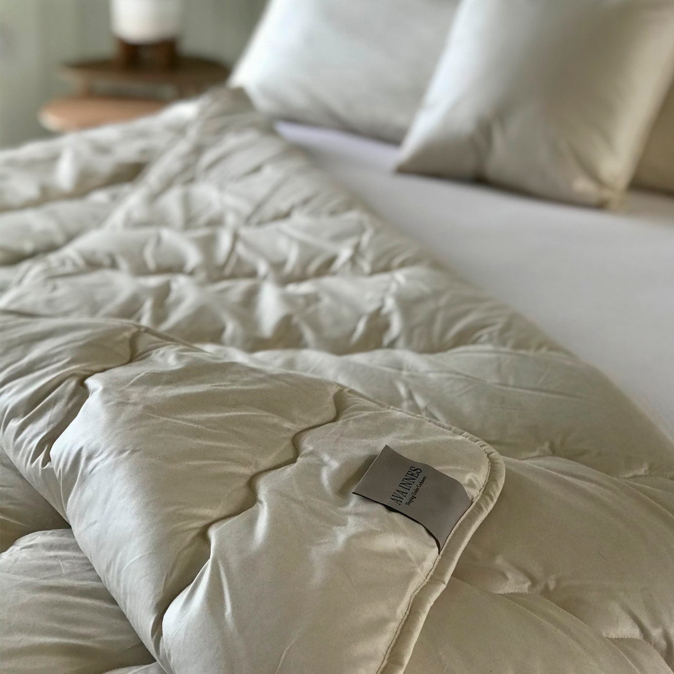 Luxury Cashmere & Wool Double Duvet All Year Round