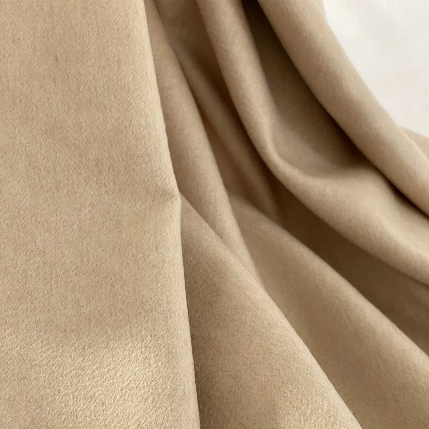 Cream Luxury Cashmere Throw