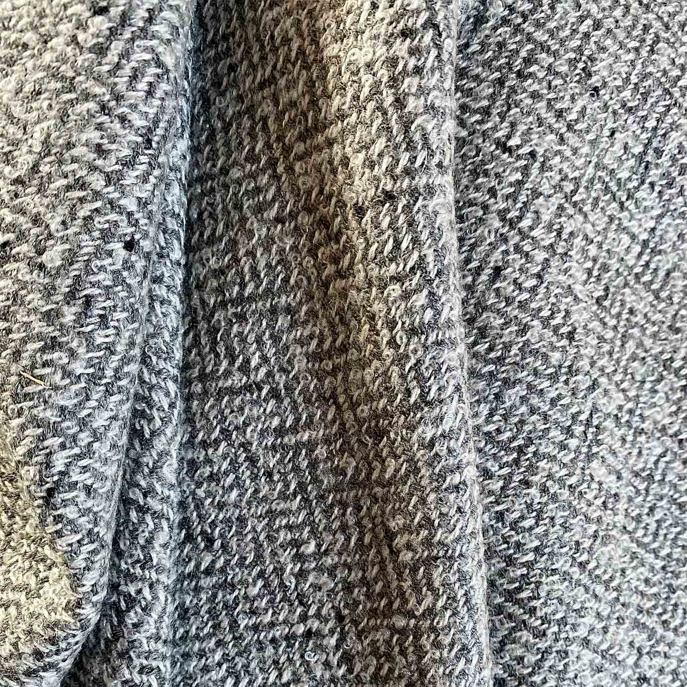 Grey Melange Luxury Cashmere Throw