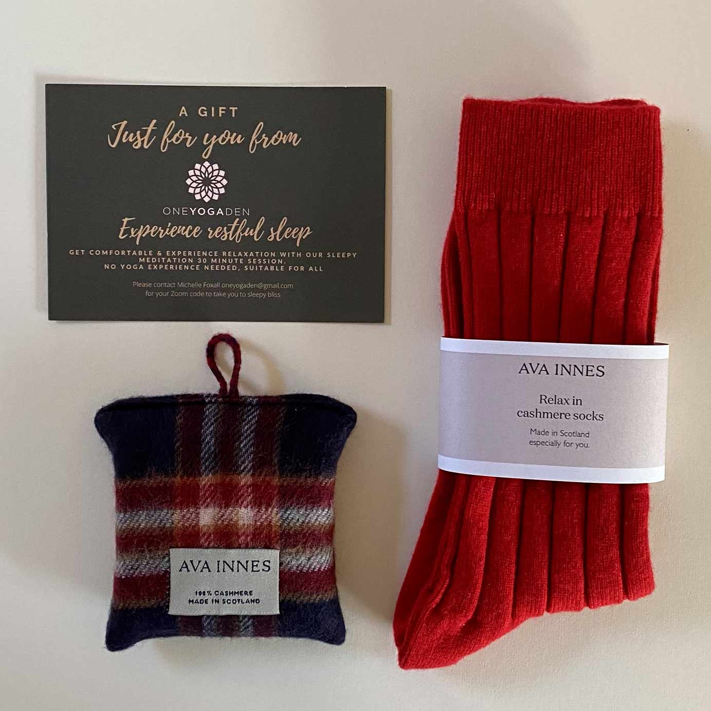 The Relax Cashmere Gift Box For Him