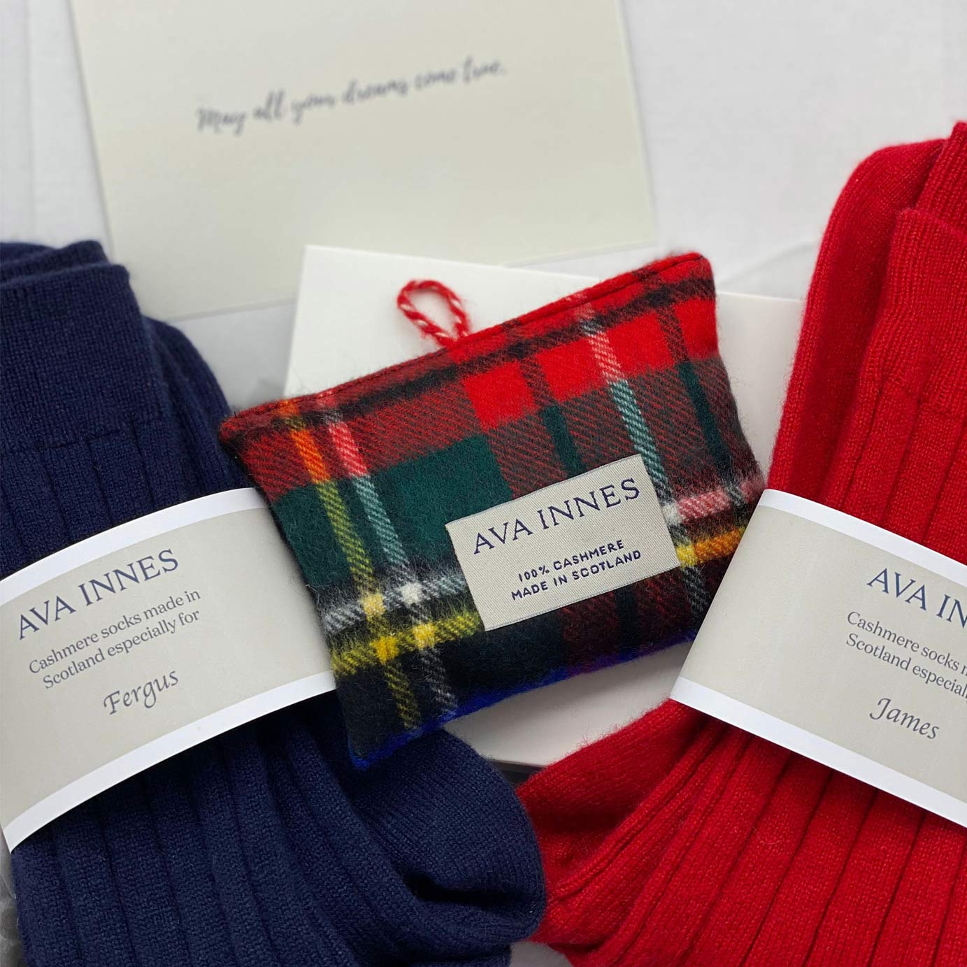 The Relax Cashmere Gift Box For Couples