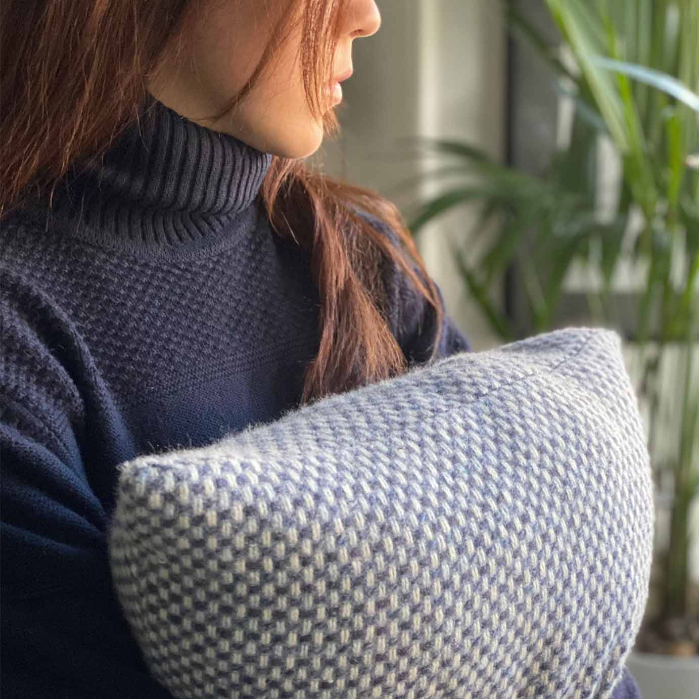 Findhorn Luxury Cashmere Cushion