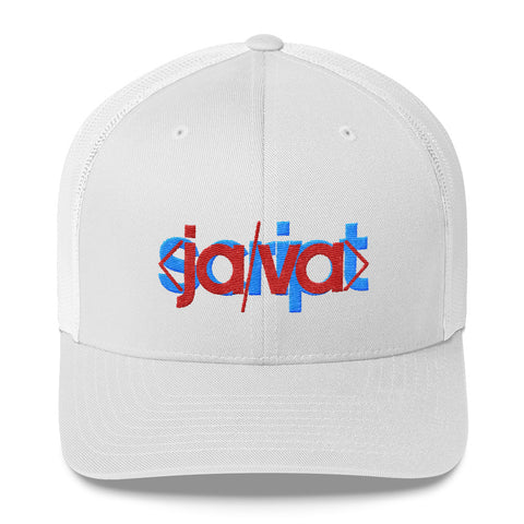 Javascript Glitch Trucker Hat