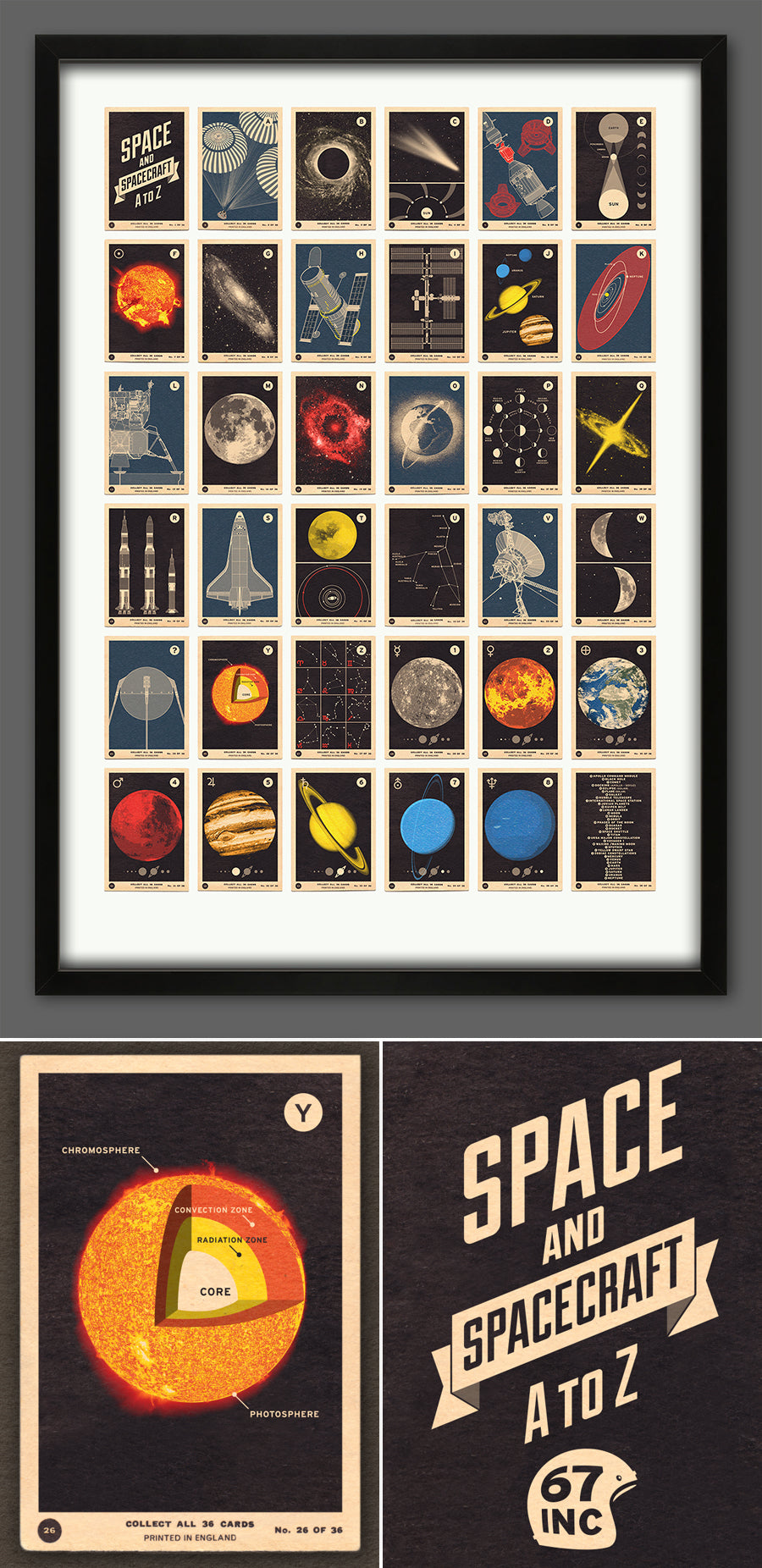 New print launched today - 'Space and Spacecraft A to Z' - 67 Inc