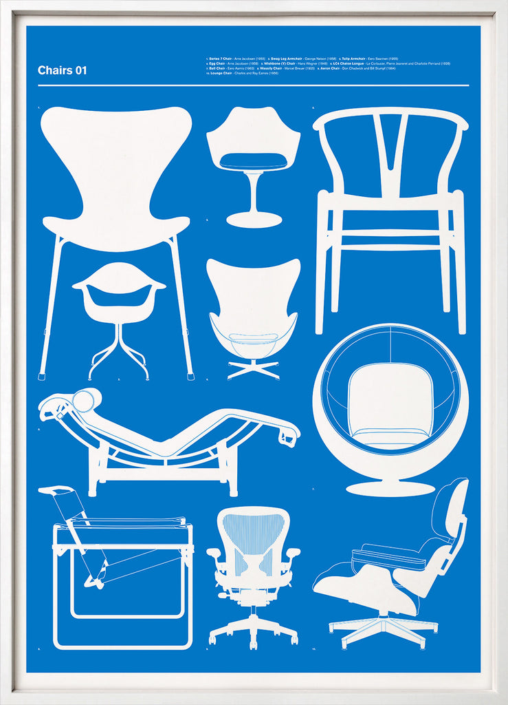 Chairs 01 (Blue)