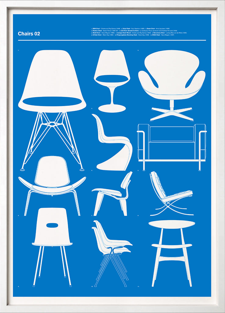 Chairs 02 (Blue)