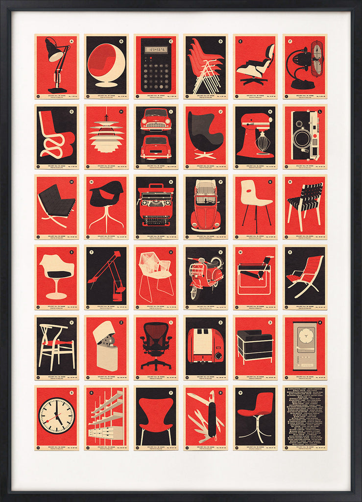Design Classics A to Z (Red Edition)