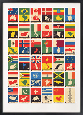 Flag Atlas - Maps and Countries A to Z