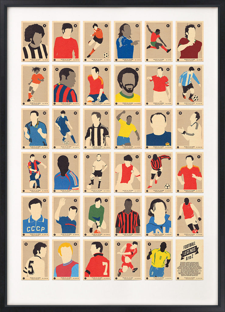 Football Legends A to Z (Grey Version)