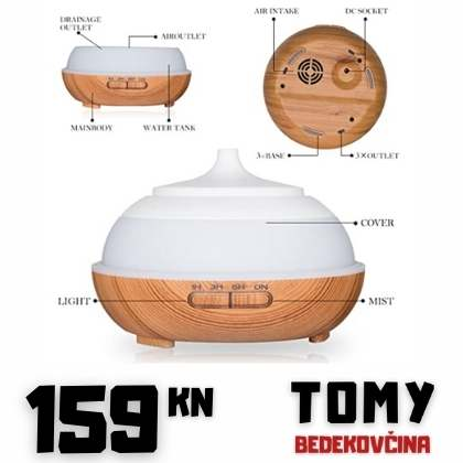 LED humidifier