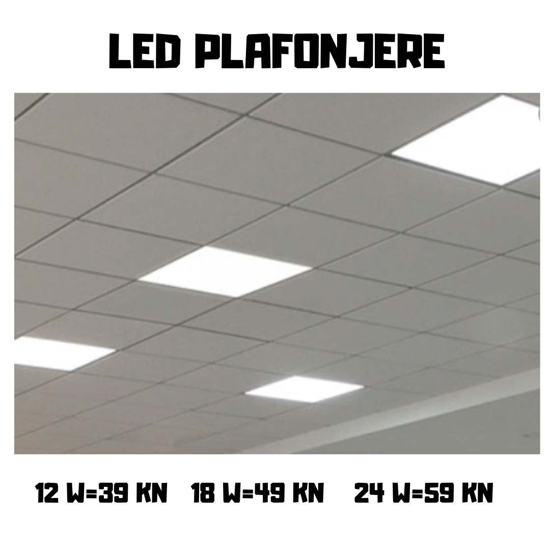 LED PLAFONJERE 12  WATT
