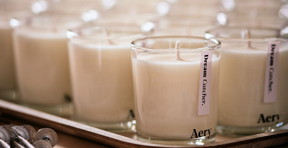 Aery Living Soy Wax Candle Production Tray