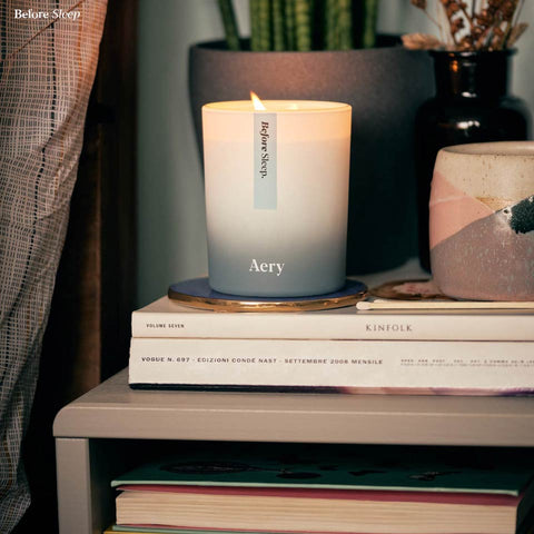 Aery Living Scented Candle Before Sleep