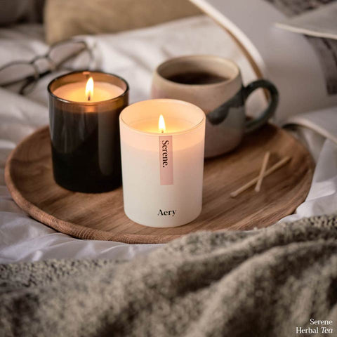 Aery Living Serene Scented Candle