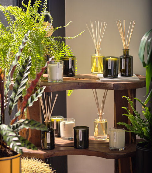 Aery Living Scented Candles and Diffusers
