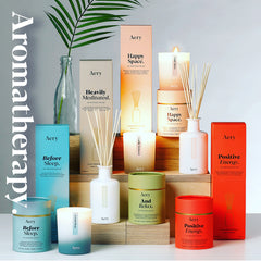 Aery Living Aromatherapy Collection Candles and Diffusers