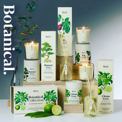 Aery Living Botanical Scented Candles and Reed Diffusers