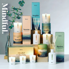 Aery Living Mindful Collection Scented Candles and diffusers