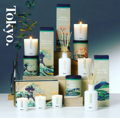 Aery Living Tokyo Collection Scented Candles and Diffusers