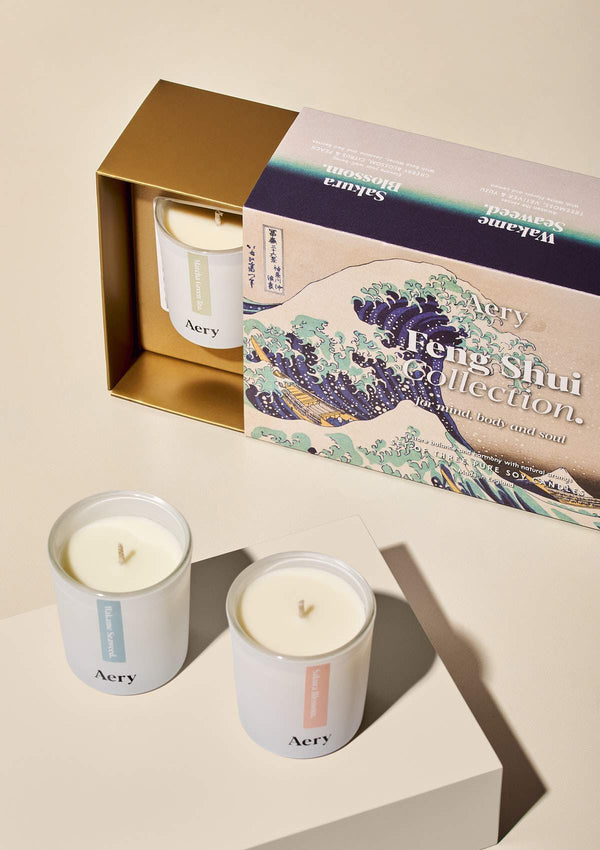 Feng Shui Gift Set of Three - Votive Candles - Aery Living