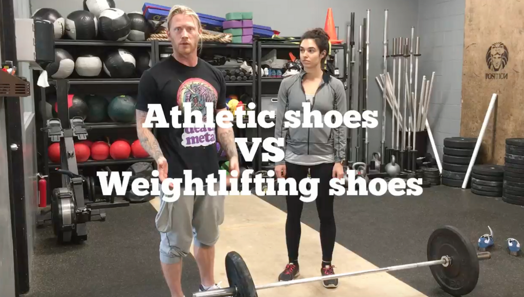 Weightlifting Shoes VS Running Shoes