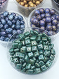 Czech Glass Picasso Beads