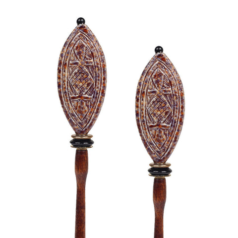 Aztec Hair Sticks