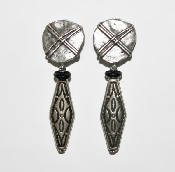 Clip Earrings E-GN-58S