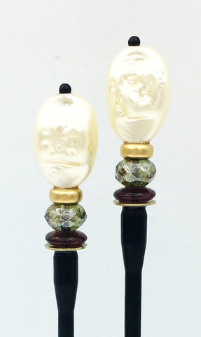 Lady II Hair Sticks