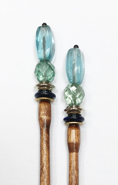 Ocean Hair Sticks