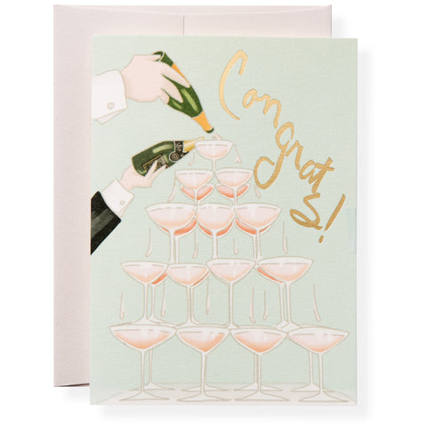 Veuve Greeting Card