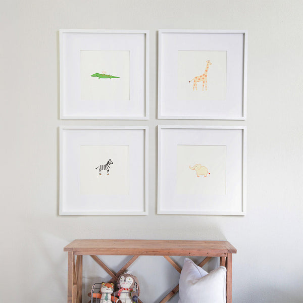 Set of 4 Wild Things Art Prints-2