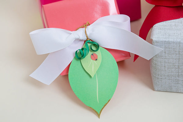 Leaf Pretty Gift Tag-3